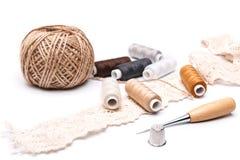 Accessoires de couture Images libres de droits