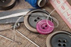 Accessoires de couture photos libres de droits