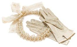 Accessoires de cru de mariage Images stock
