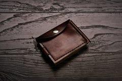 Accessoires de cuir véritable du ` s d'hommes Photographie stock