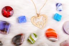 Accessoires de filles d'amour Image stock