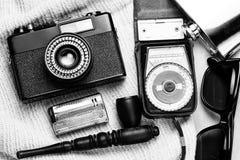 Accessoires de la personne créative Images stock