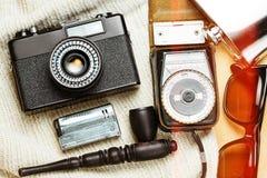Accessoires de la personne créative Photo stock