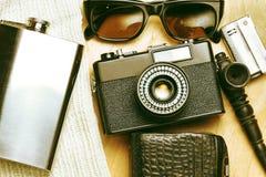 Accessoires de la personne créative Image libre de droits