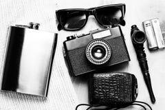 Accessoires de la personne créative Photographie stock