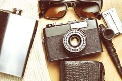 Accessoires de la personne créative Photos libres de droits