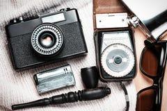 Accessoires de la personne créative Photos stock