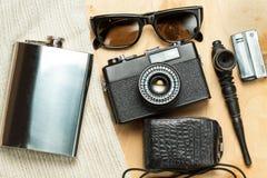 Accessoires de la personne créative Image stock
