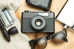 Accessoires de la personne créative Photo libre de droits