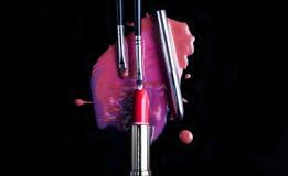 Accessoires de maquillage image libre de droits