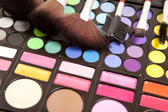 Accessoires de maquillage image stock