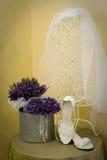 Accessoires de mariage Images stock