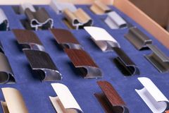 Accessoires de meubles faits de métal Images stock