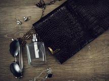 Accessoires de mode de dames Images libres de droits