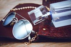 Accessoires de mode de dames Images stock
