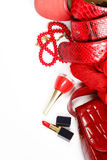Accessoires de mode pour des femmes Image libre de droits