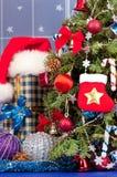 Accessoires de Noël Photo stock