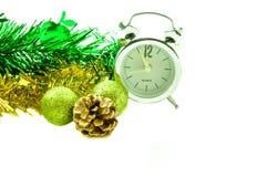 Accessoires de Noël et de nouvelle année Photographie stock libre de droits