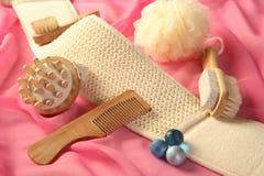 Accessoires de peau et de bodycare Photo stock