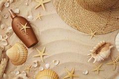 Accessoires de plage images libres de droits