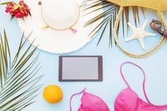 Accessoires de plage photographie stock