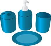Accessoires de salle de bains   Photographie stock