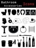 Accessoires de salle de bains Photo stock