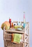 Accessoires de salle de bains Image stock