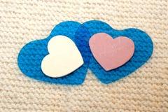 Accessoires de tricotage Boules de fil Photographie stock