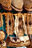 Accessoires en cuir hongrois de métier Photo libre de droits