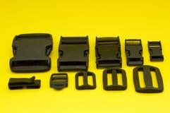 Accessoires en plastique Image libre de droits