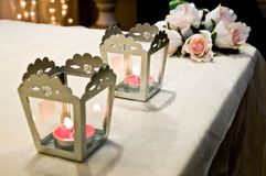 Accessoires et appui verticaux de mariage Photographie stock libre de droits