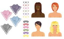 Accessoires femelles Photos libres de droits