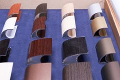 Accessoires modernes faits de métal Image stock