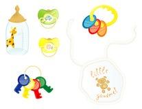Accessoires nouveau-nés Photos stock