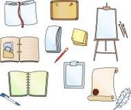 Accessoires pour l'écriture Images libres de droits