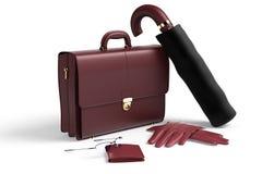 Accessoires pour l'homme d'affaires Photos stock