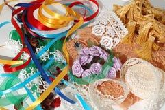 Accessoires pour la couture Photo stock