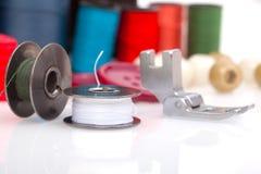 Accessoires pour la couture Photos stock