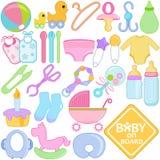 Accessoires pour la maman et la chéri Image stock