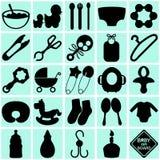 Accessoires pour la maman et la chéri Images stock