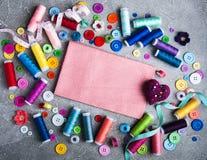 Accessoires pour la mise sur pied Photographie stock