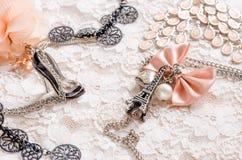 Accessoires romantiques Photographie stock