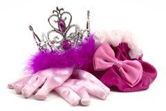 Accessoires roses de princesse Image libre de droits
