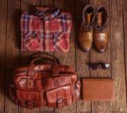 Accessori alla moda dell'uomo Fotografia Stock Libera da Diritti