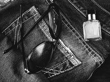 Accessori degli uomini Fotografie Stock Libere da Diritti