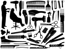 Accessori dei capelli illustrazione di stock