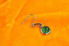 Accessori dei gioielli della giada Fotografie Stock