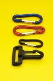 Accessori del metallo e della plastica Fotografie Stock