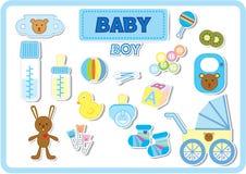 Accessori del neonato Immagine Stock Libera da Diritti